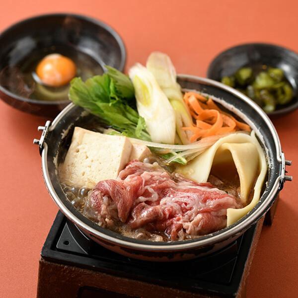 国産牛すき鍋膳