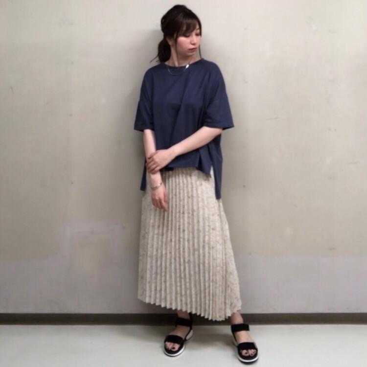 ☆シフォンプリーツスカート☆